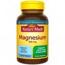 Nature Made Magnesium 250 mg Softgels Nerve Heart Bone 90 Count