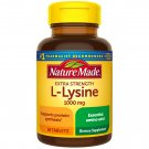 Nature Made Extra Strength L-Lysine Protein Synthesis 1000 mg 60 Tablets