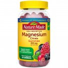 Nature Made High Absorption Magnesium Citrate 200 mg 60 Gummies