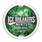 Ice Breakers Spearmint Sugar Free Mints 1.5 Oz Pack (2 Pack)