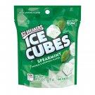 Ice Breakers Ice Cubes Spearmint Flavor Sugar Free Gum 100 Count Bag