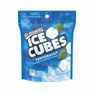 Ice Breakers Ice Cubes Peppermint Flavor Sugar Free Gum 100 Count Bag
