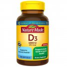 Nature Made Vitamin D3 Dietary Supplement 180 Softgels