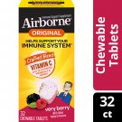 Airborne Vitamin C Chewable Tablets 1000mg Immune Support 32 Count