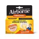 Airborne Zesty Orange Effervescent Tablets Vitamin C 1000 mg Immune Support 10 Count