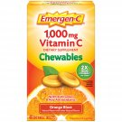 Emergen-C Chewables With Vitamin C Dietary Supplement Orange Flavor 40 Chewable Tablets