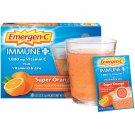Emergen-C Super Orange Immune+ Dietary Supplement Powder with Vitamin C 30 Count