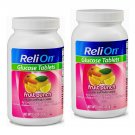 ReliOn Glucose Tablets Fruit Punch Flavor (50 Tablets Bottle) 2 Bottles