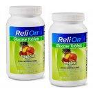 ReliOn Glucose Tablets Tropical Fruit Flavor (50 Tablets Bottle) 2 Bottles