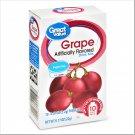 3 Boxes Great Value Sugar-Free Grape Drink Mix (10 Count Box)