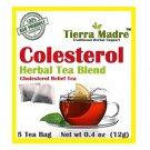 Tierra Madre Cholesterol Relief Herbal Tea / Colesterol Te de Hierbas 15 Tea Bags