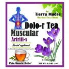 Tierra Madre Pain Muscle Relief Herbal Tea / Dolor Muscular Te de Hierbas 15 Tea Bags