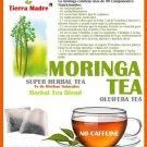 Tierra Madre Moring Tea Super Herbal Tea / Te de Moringa 15 Tea Bags
