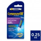 Compound W Maximum Strength Fast Acting Gel Wart Remover 0.25 oz