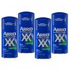 Arrid XX Extra Extra Dry Solid Antiperspirant Deodorant Ultra Fresh 2.6 Oz (Pack of 4)