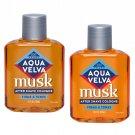 Aqua Velva Musk After Shave/Cologne 3.5 Oz (Pack of 2)