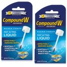 Compound W Maximum Strength Fast Acting Liquid Wart Remover 0.31 Oz (Pack of 2)
