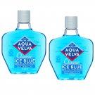 Aqua Velva After Shave Classic Ice Blue Scent 7 oz (Pack of 2)