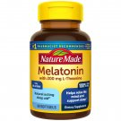 Nature Made Melatonin 3 mg with 200 mg L-theanine Supporting Restful Sleep 60 Softgels