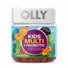 OLLY Kids Multivitamin + Probiotic Gummy Vitamin Blend, 70 Gummies