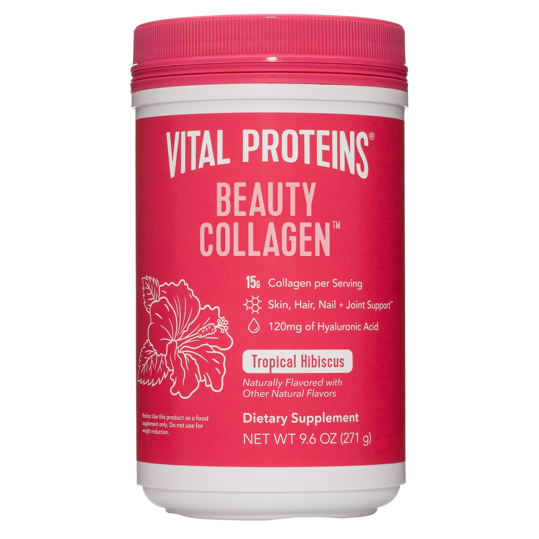 Vital Proteins Beauty Collagen, 15g Collagen, Tropical Hibiscus, 9.6 oz