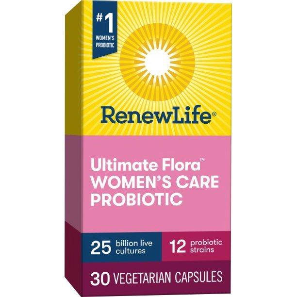Renew Life Ultimate Flora Women's Probiotic, Capsules Immunity Concern 30 Count