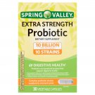 Spring Valley Extra-Strength Probiotic Vegetable Capsules, 30 Count