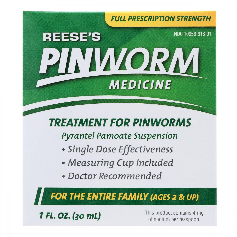 Reese's Pinworm Medicine, Tratamiento Oxiuros, 1 Oz