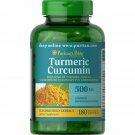 Puritan's Pride Turmeric Curcumin 500 mg, 180 Capsules
