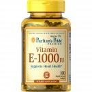 Puritan's Pride Vitamin E Softgels 1000 IU, 100 Count