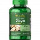 Puritan's Pride Ginger Root 550 mg, 200 Capsules