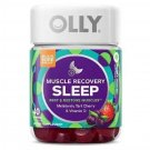 OLLY Muscle Recovery Sleep Gummies - Berry 40 Count