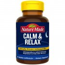 Ashwagandha & Magnesium, Nature Made Calm & Relax, Stress Relief, 60 Capsules