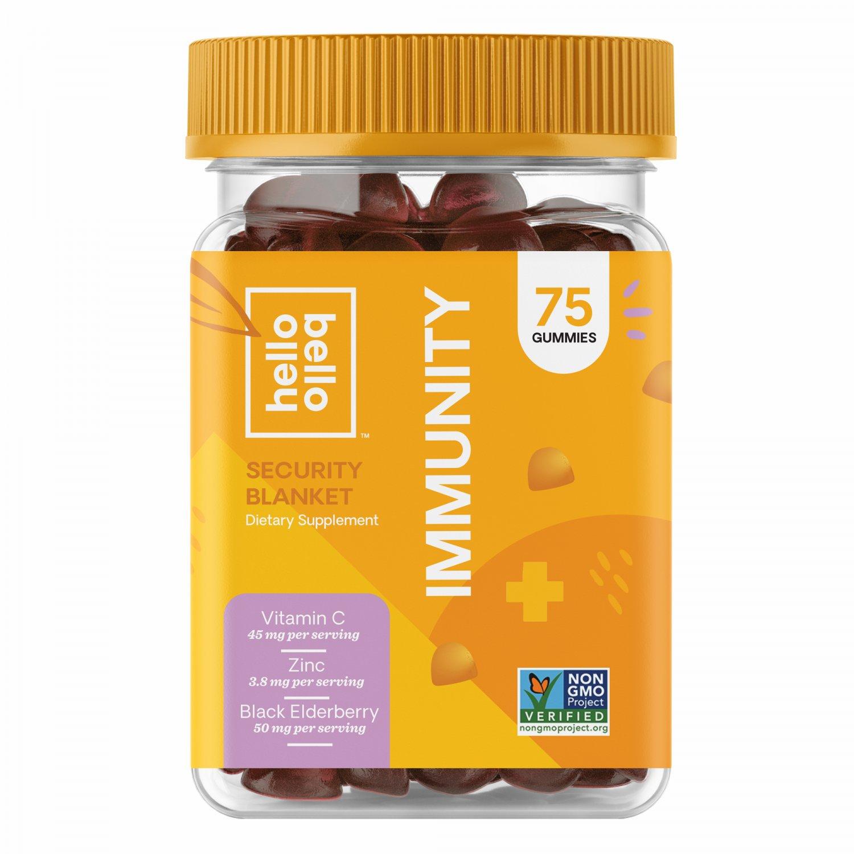 Hello Bello Elderberry Immunity Gummy Vitamin, 75 Gummies