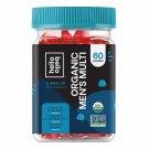 Hello Bello Organic Men's Multi Vitamin Gummy, 60 Gummies