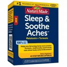 Nature Made Sleep & Soothe Aches Capsules - 40 Count