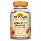 Sundown Naturals, Vitamin D3 Gummies, 50 mcg (2,000 IU), 90 Gummies