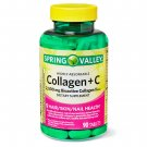 Spring Valley Collagen + C Tablets, 2500 mg, 90 Count