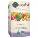 Garden of Life My Kind Organic Prenatal Daily Multivitamin Tablets 30 Count
