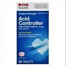 CVS Health Famotidine 10 mg Acid Controller 30 Tablets (Pack of 2)