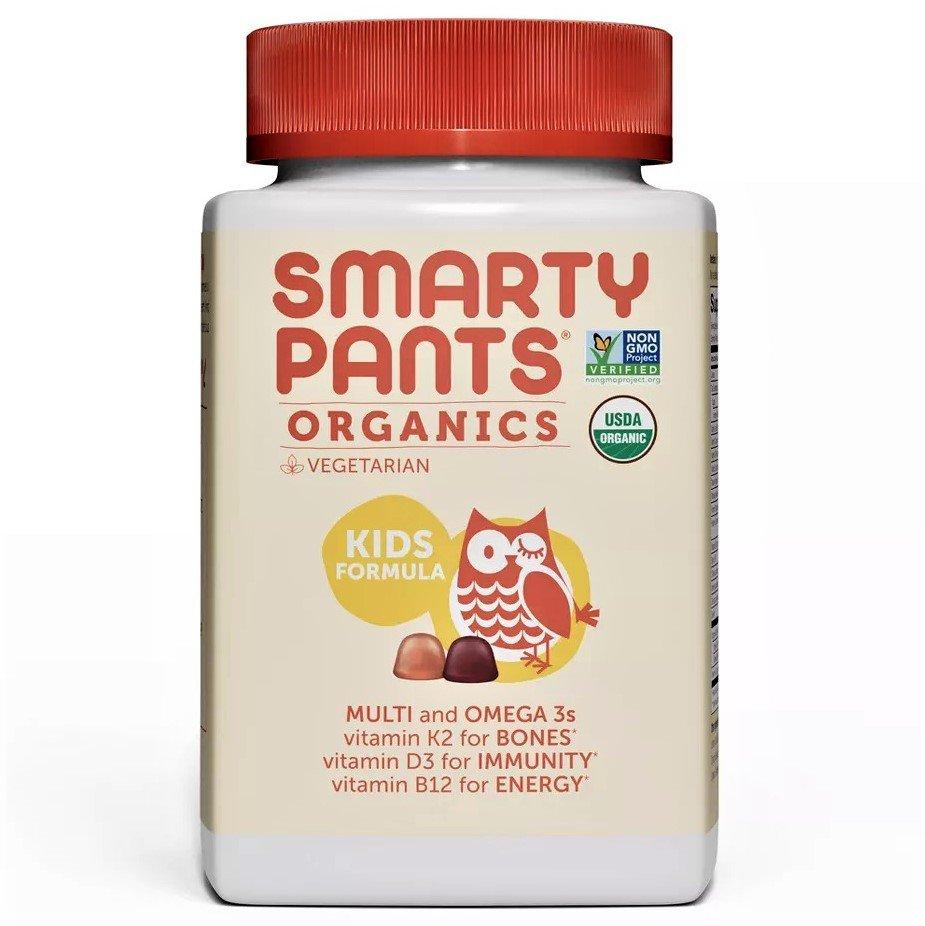SmartyPants Organics Kids Formula Multivitamin Gummies - 90 Count