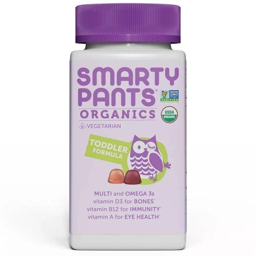 SmartyPants Organics Toddler Formula Multivitamin Gummies - 45 Count