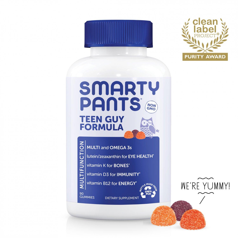 SmartyPants Teen Guy Formula Multivitamin Gummies - 90 Count