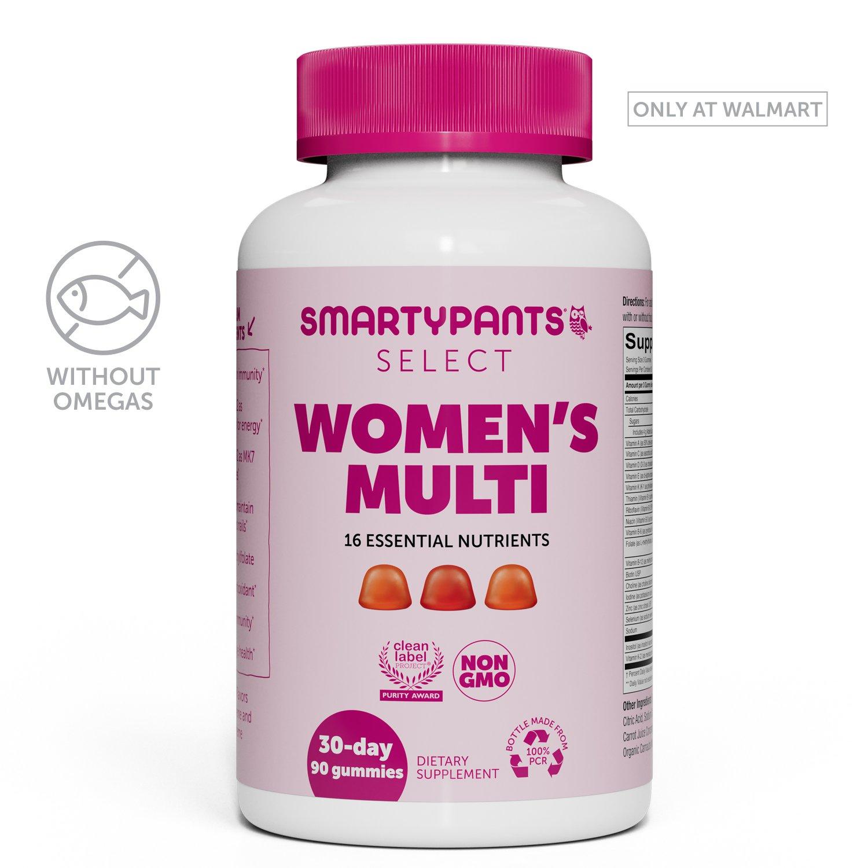 SmartyPants Gummy Vitamins Select Women Multivitamin, 90 Count