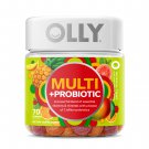 OLLY Adult Multi + Probiotic Gummy Supplement - 70 Count