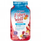 Vitafusion Fiber Well Fit Gummies - Peach, Strawberry & Berry - 90 Count