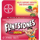 Flintstones Chewable Kids Vitamins Plus Iron, Multivitamin for Kids, 60 Count