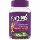 Flintstones Elderberry Gummy Immunity Support Supplements 60 Count
