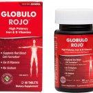 Globulo Rojo Multivitamin High Potency Vitamin C, Zinc & 6 B Vitamins 60 Tablets