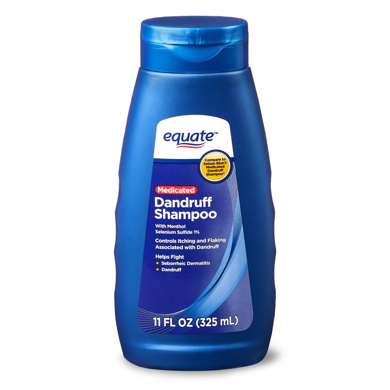 Equate Medicated Dandruff Shampoo, 11 oz